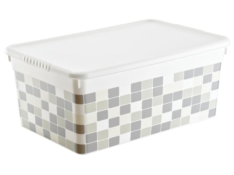 Ящик FunBox Deco 10L FB3040 Плитка