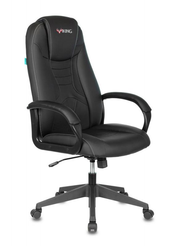 Фото - Компьютерное кресло Бюрократ Viking-8N Black Выгодный набор + серт. 200Р!!! компьютерное кресло chairman game 17 black grey 00 07024558 выгодный набор серт 200р
