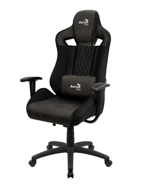 Фото - Компьютерное кресло AeroCool EARL Iron Black Выгодный набор + серт. 200Р!!! компьютерное кресло chairman game 17 black grey 00 07024558 выгодный набор серт 200р