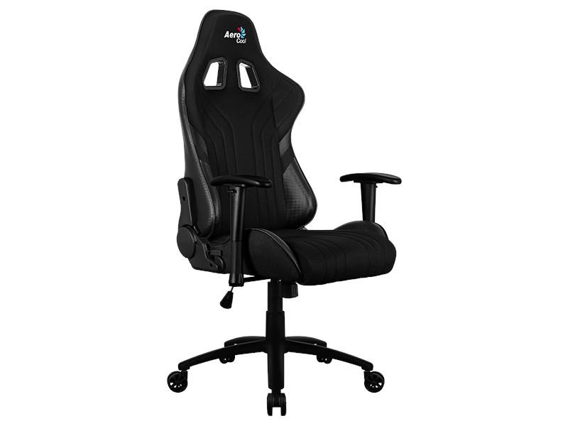 Компьютерное кресло AeroCool AERO 1 Alpha Black Выгодный набор + серт. 200Р!!!