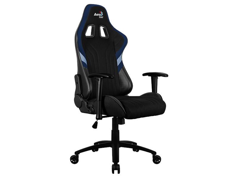 Компьютерное кресло AeroCool AERO 1 Alpha Black-Blue Выгодный набор + серт. 200Р!!!