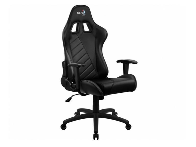 Компьютерное кресло AeroCool AC110 AIR All Black Выгодный набор + серт. 200Р!!! корпус aerocool xpredator x3 evil black edition
