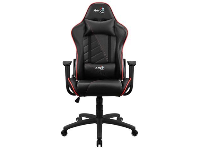 Компьютерное кресло AeroCool AC110 AIR Black-Red Выгодный набор + серт. 200Р!!!