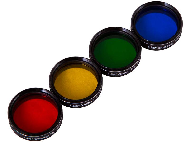 Набор светофильтров Bresser Explore Scientific №2 71750