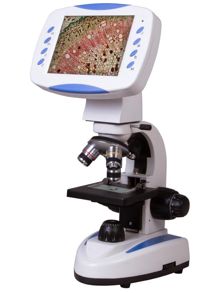 Микроскоп цифровой Levenhuk D80L LCD 75433