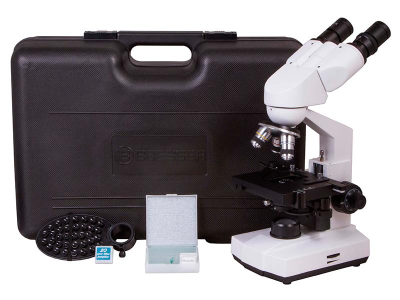 Микроскоп Bresser Erudit Basic 40-400x 73761