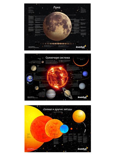 Комплект постеров Levenhuk Космос 30355