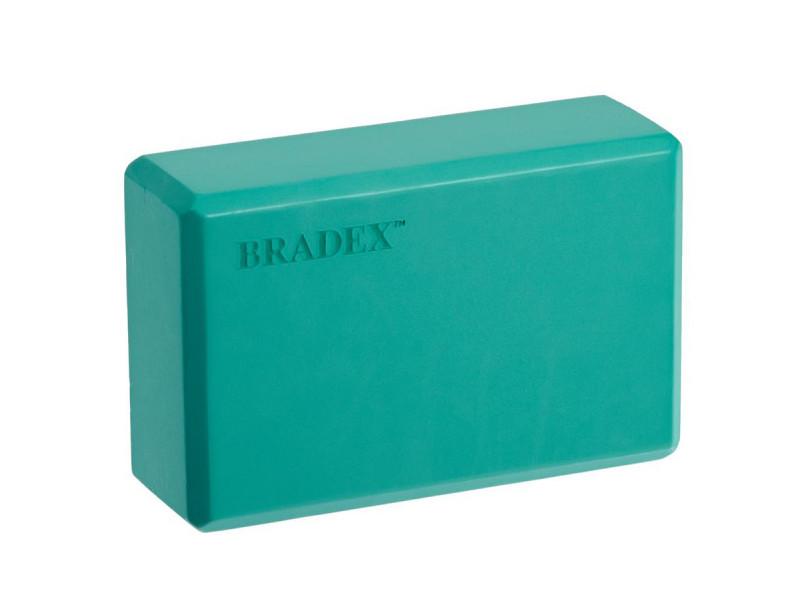 Фото - Блок для йоги Bradex Turquoise SF 0408 блок для йоги bradex sf 0407 sf 0408 sf 0409 серый