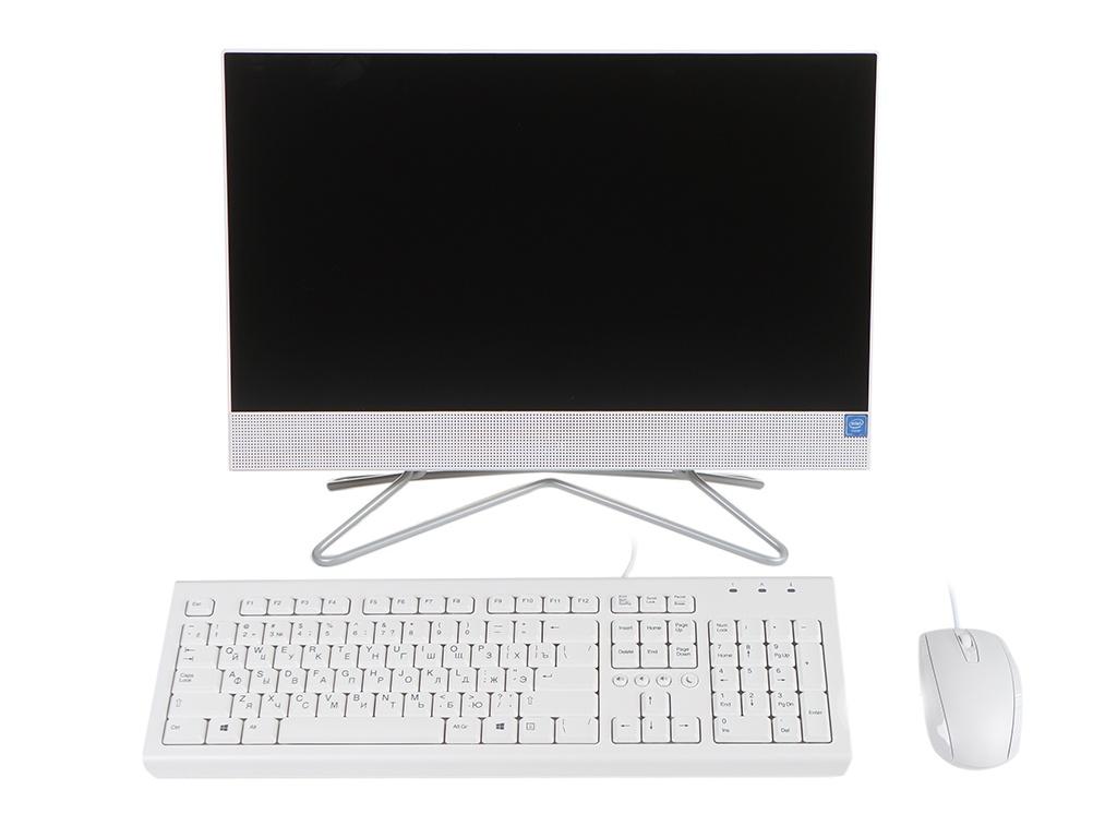Моноблок HP 22-df0073ur 27Z85EA (Intel Celeron J4025 2.0 GHz/4096Mb/256Gb SSD/Intel UHD Graphics/Wi-Fi/Bluetooth/Cam/21.5/1920x1080/DOS)