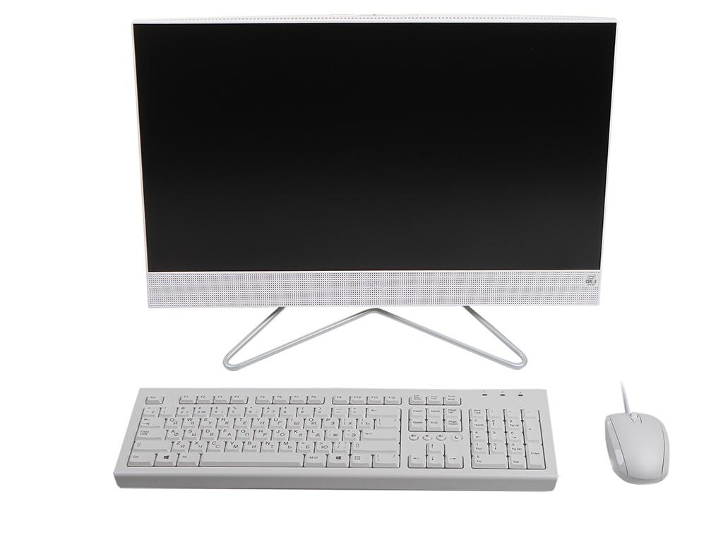 Моноблок HP 24-df0078ur 25X26EA (Intel Core i3-1005G1 1.2 GHz/8192Mb/256Gb SSD/Intel UHD Graphics/Wi-Fi/Bluetooth/Cam/23.8/1920x1080/DOS) ноутбук hp 15 dw0005ur intel core i3 8145u 2100 mhz 15 6 1366x768 8gb 256gb ssd no dvd intel uhd graphics 620 wi fi bluetooth windows 10