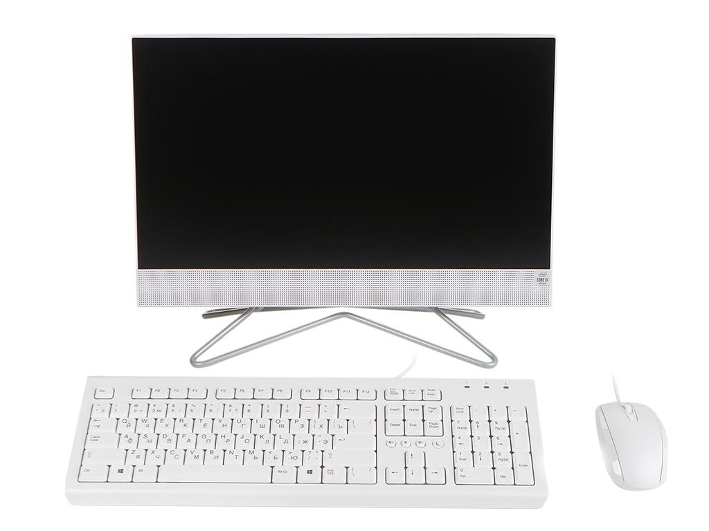 Моноблок HP 22-df0074ur 25X22EA (Intel Core i3-1005G1 1.2 GHz/8192Mb/1000Gb + 256Gb SSD/Intel UHD Graphics/Wi-Fi/Bluetooth/Cam/21.5/1920x1080/DOS) ноутбук hp 15 dw0005ur intel core i3 8145u 2100 mhz 15 6 1366x768 8gb 256gb ssd no dvd intel uhd graphics 620 wi fi bluetooth windows 10
