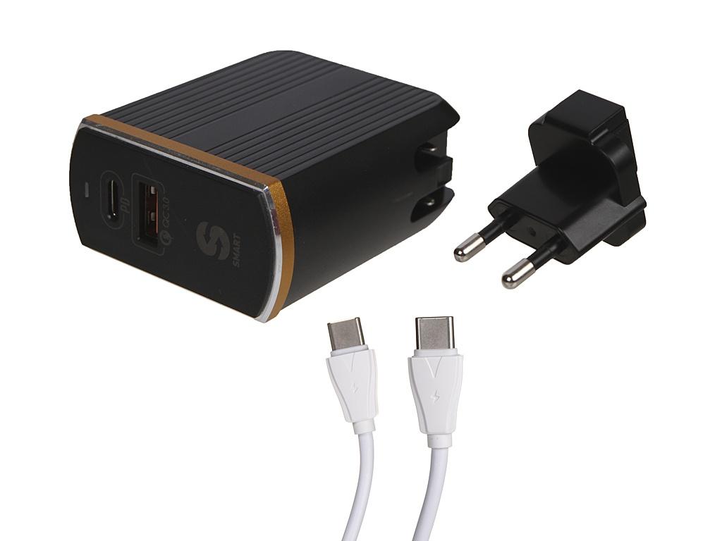 Зарядное устройство Ldnio A2502C 2xUSB + PD/PD QC 3.0 36W Black LD_B4358