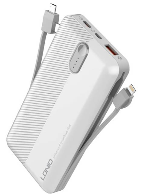 Внешний аккумулятор Ldnio Power Bank PL2014 20000mAh White LD_B4347
