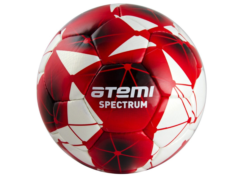 Мяч Atemi Spectrum PU №5 White-Red