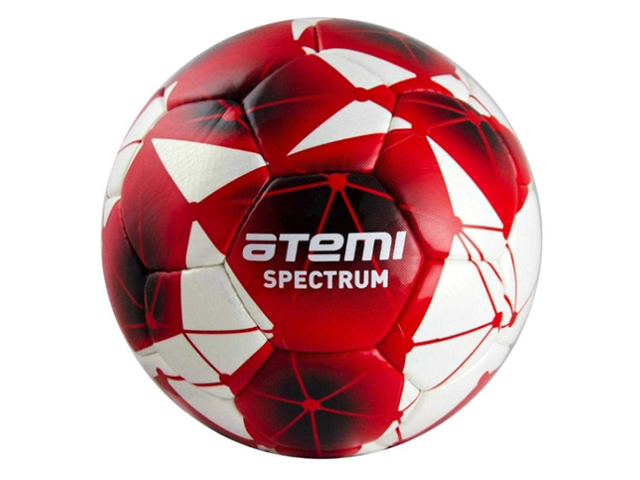 Мяч Atemi Spectrum PU №4 White-Red