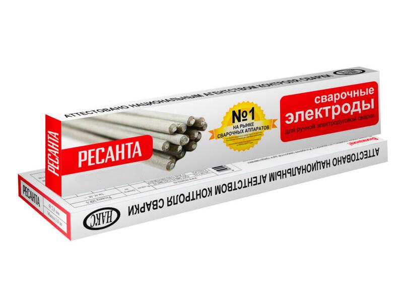 Электроды Ресанта МР-3 Ф2,0 пачка 1кг 71/6/48