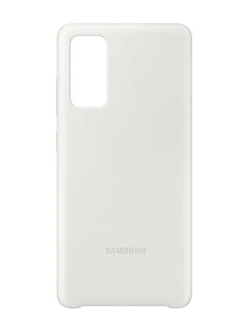 Чехол для Samsung Galaxy S20 FE Silicone Cover White EF-PG780TWEGRU