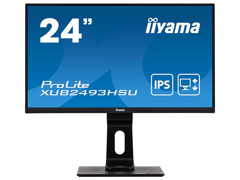 Монитор Iiyama ProLite XUB2493HSU-B1 23.8 монитор iiyama xub2493hsu b1