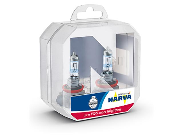 Лампа Narva RP150 H1 12V 55W P14.5s 2шт 48068