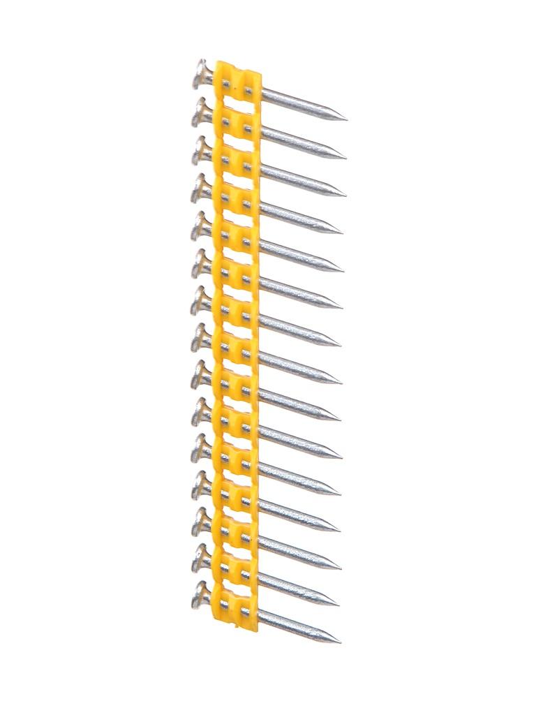 Фото - Гвозди DeWalt DCN8901030 для DCN890 по бетону 2.6x30mm 1005шт гвозди dewalt dcn8903053 для dcn890 по бетону 3 0x53mm 510шт