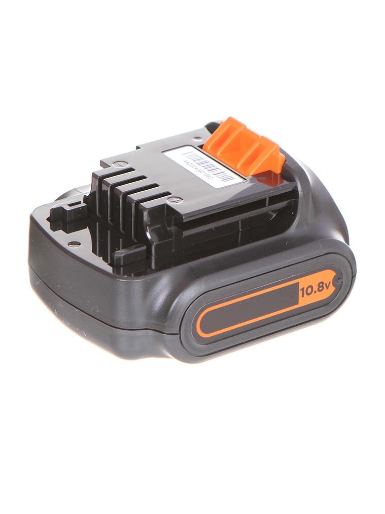 Аккумулятор Black+Decker Li-Ion 10.8V 1.5Ah BL1512-XJ краскопульт black decker bdpr400 xj bdpr400 xj