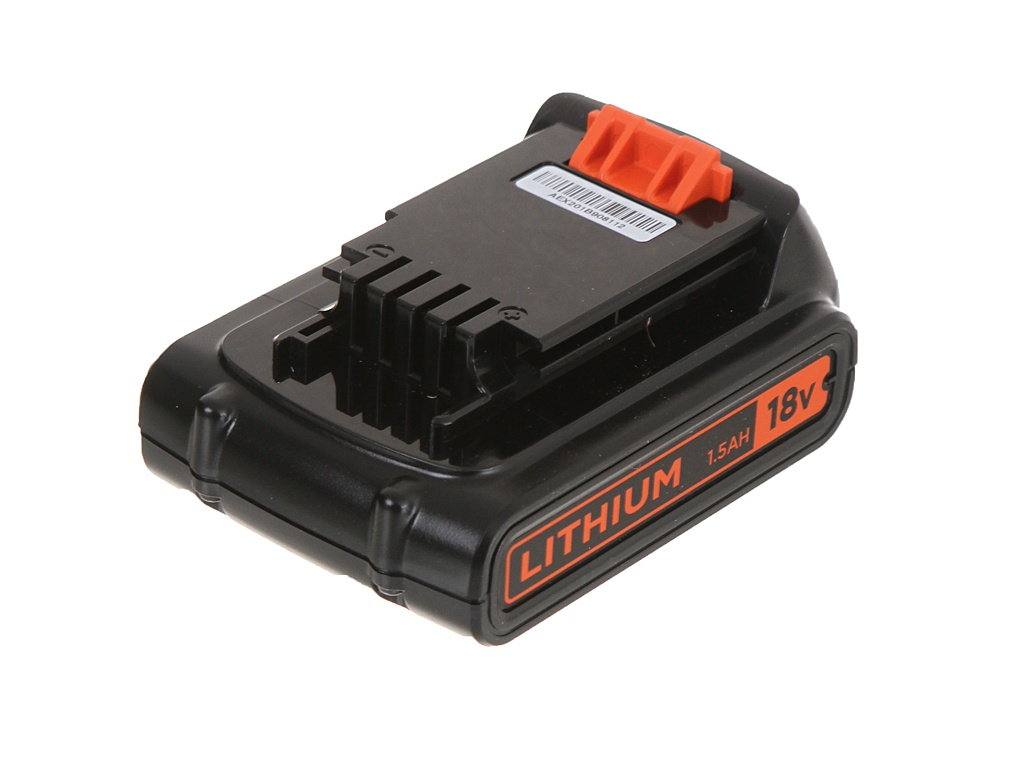 Аккумулятор Black+Decker Li-Ion 18V 1.5Ah BL1518-XJ