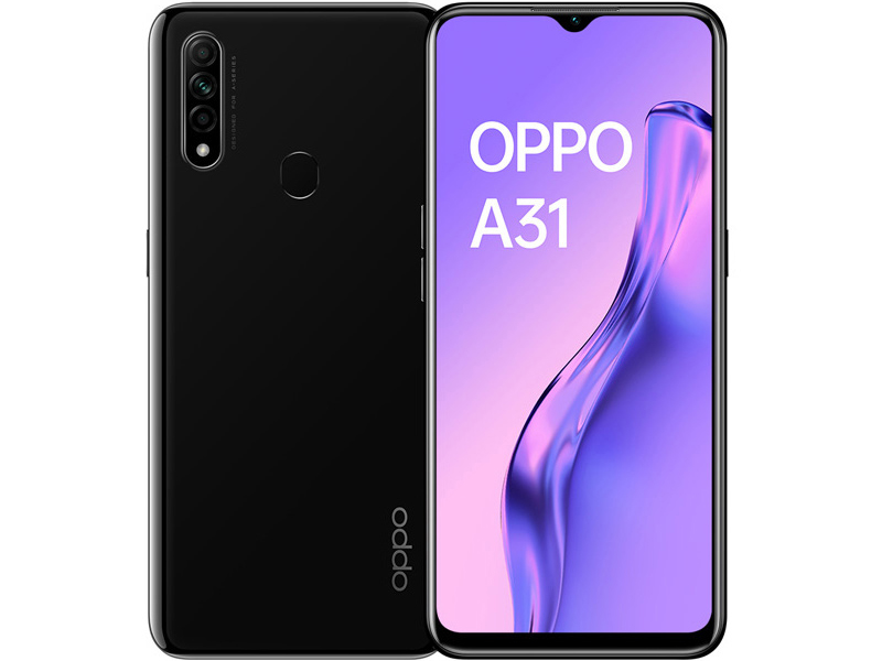 Сотовый телефон Oppo A31 4/64GB Mystery Black Выгодный набор + серт. 200Р!!!