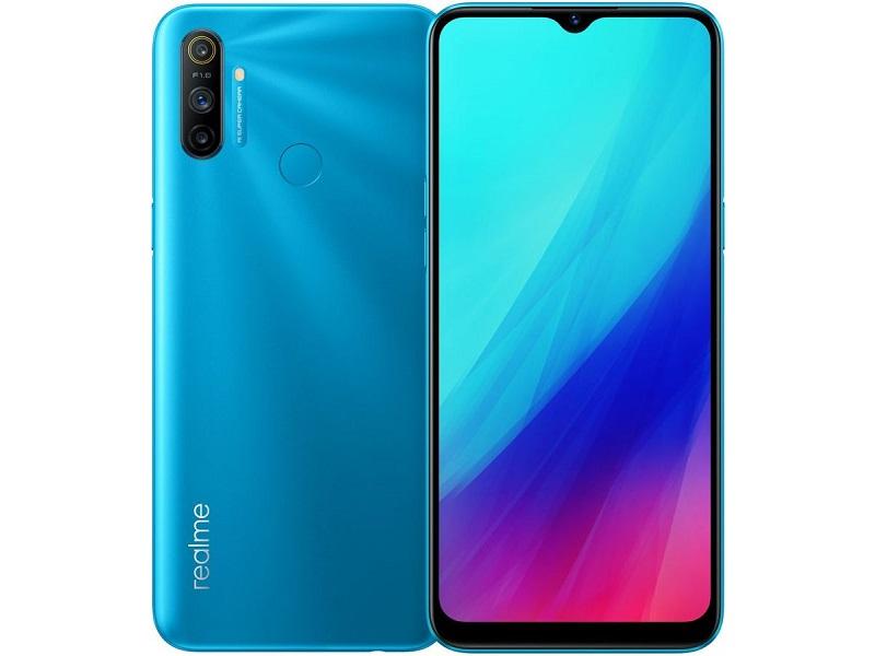 Сотовый телефон Realme C3 3/32Gb LTE Blue Выгодный набор + серт. 200Р!!!