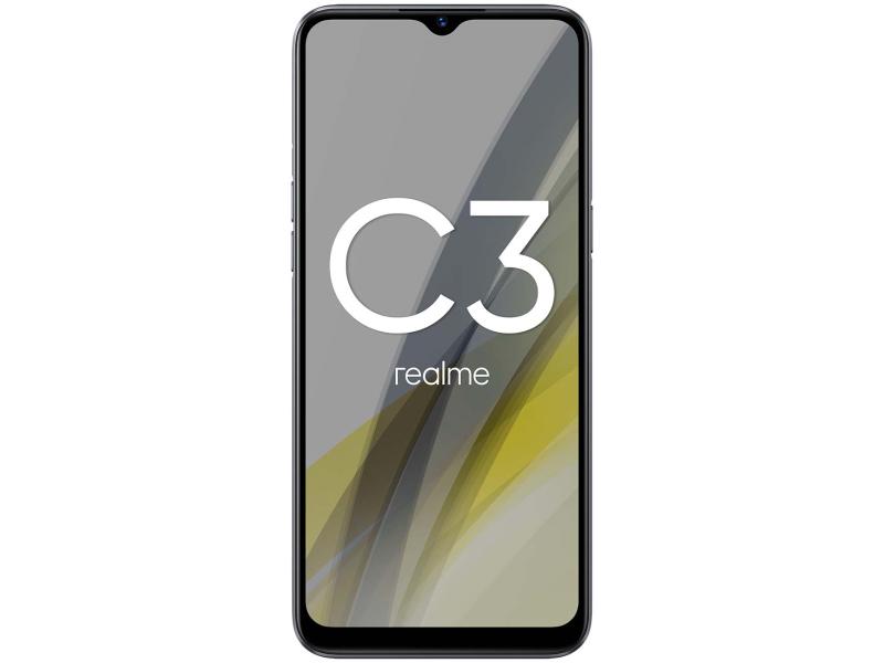 Сотовый телефон Realme C3 3/32Gb LTE Grey Выгодный набор + серт. 200Р!!!