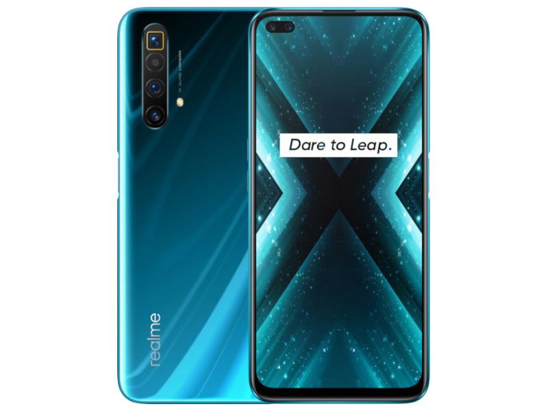 Сотовый телефон Realme X3 8/128Gb Blue Выгодный набор + серт. 200Р!!!