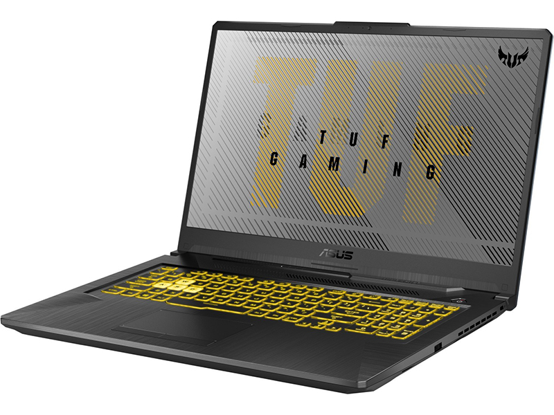 Ноутбук ASUS TUF FX706IU 90NR03K1-M03600 (AMD Ryzen 7 4800H 2.9 GHz/16384Mb/512Gb SSD/nVidia GeForce GTX 1660Ti 6144Mb/Wi-Fi/Bluetooth/Cam/17.3/1920x1080/no OS)