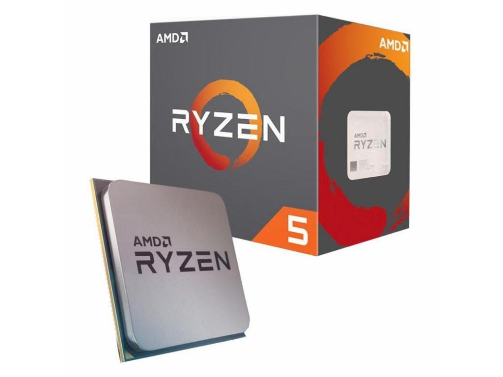 Процессор AMD Ryzen 5 2600 (3900MHz/AM4/L2+L3 19456Kb) YD2600BBAFBOX