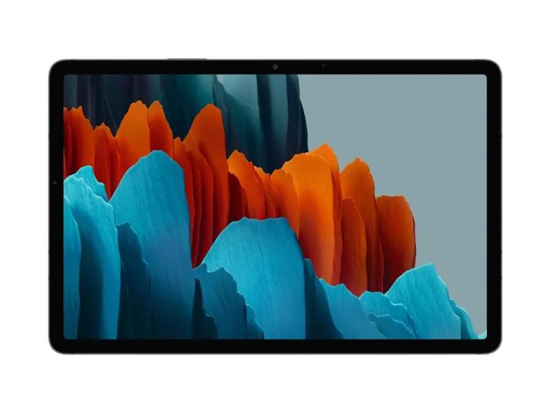 Фото - Планшет Samsung Galaxy Tab S7 Wi-Fi 11 SM-T870 - 128Gb Black SM-T870NZKASER Выгодный набор + серт. 200Р!!! планшет samsung galaxy tab s6 lite wi fi 10 4 sm p610 128gb grey sm p610nzaeser выгодный набор серт 200р
