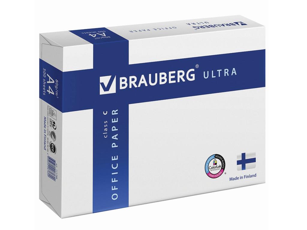 Бумага Brauberg Ultra Finland А4 80g/m2 500 листов 111788
