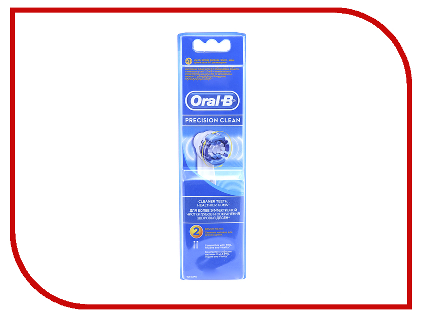 Сменная насадка Braun Oral-B Precision Clean EB20-2