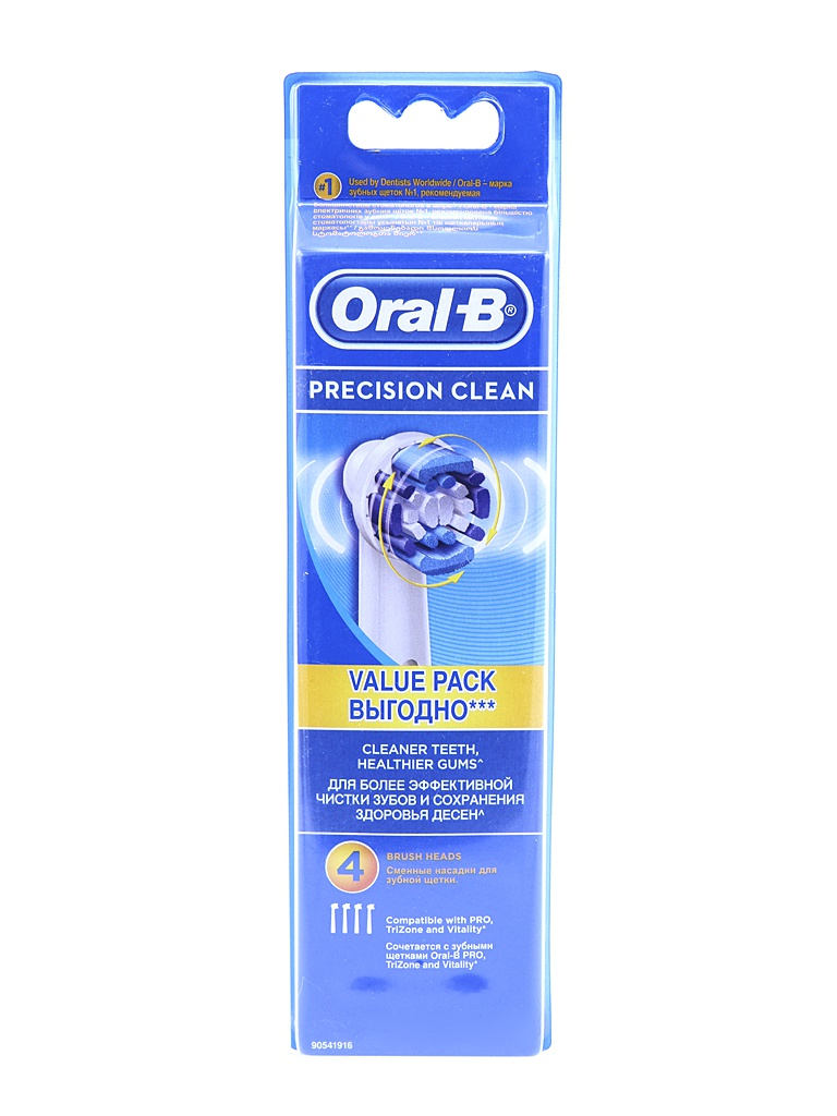 Сменная насадка Braun Oral-B Precision Clean EB20-4
