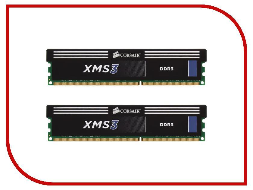 Модуль памяти Corsair XMS3 DDR3 DIMM 1600MHz PC3-12800 - 16Gb KIT (2x8Gb) CMX16GX3M2A1600C11 jzl memoria pc3 10600 ddr3 1333mhz pc3 10600 ddr 3 1333 mhz 8gb lc9 240 pin desktop pc computer dimm memory ram for amd cpu