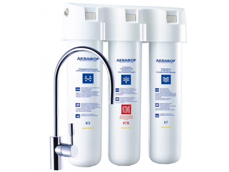 Фильтр для воды Аквафор Кристалл Эко исполнение 3 К3-К7В-К7