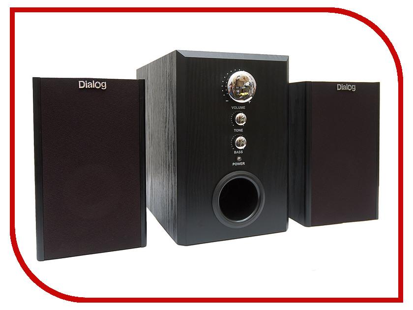 Колонки Dialog W-3000 Black<br>