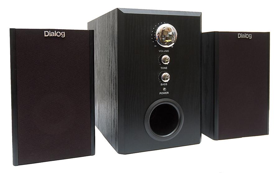 Колонки 2.1 Dialog W-3000 Black