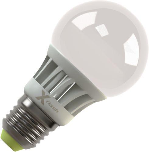 Лампочка X-flash Globe XF-BF-E27-4W-3K-220V желтый свет, матовая 42951<br>