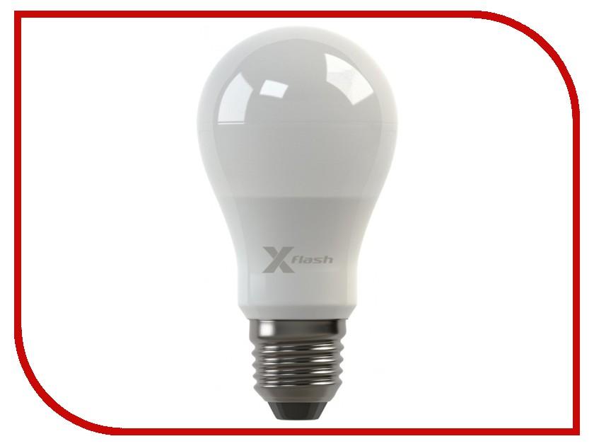 Лампочка X-flash Globe XF-BF-E27-6W-3K-220V желтый свет, матовая 43408<br>