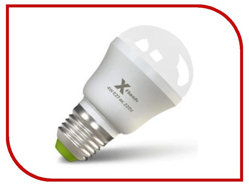 Лампочка X-flash Mini XF-BF-E27-4W-4K-220V белый свет, матовая 24257/42579<br>