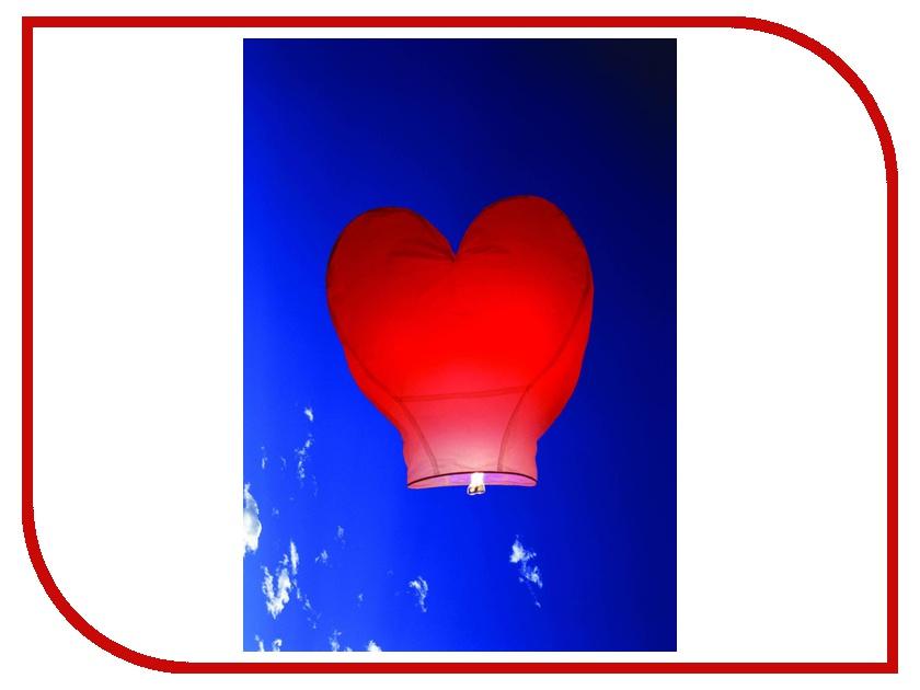Небесный фонарик желаний Nebofon Сердце 2D Pink<br>