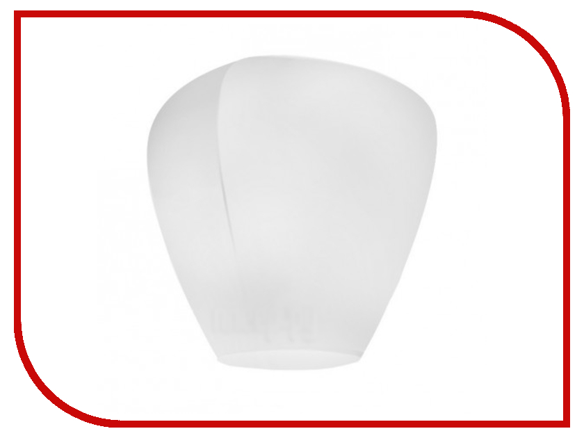 Небесный фонарик желаний Nebofon Большой Бриллиант White