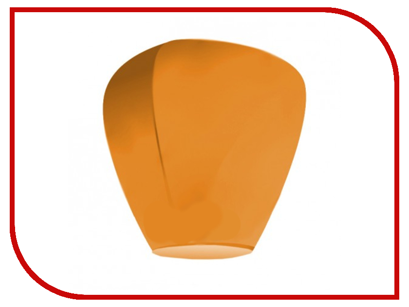 Небесный фонарик желаний Nebofon Большой Бриллиант Orange<br>