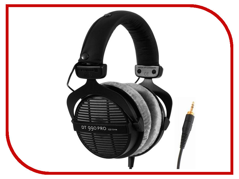 Beyerdynamic DT 990 PRO 250 Ohm beyerdynamic dt 770 pro 32 ohm professional studio headphones close back headphone for mobile use new in official retail box