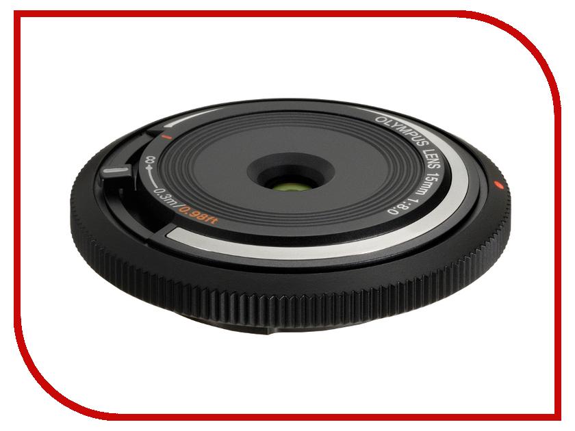 Объектив Olympus 15mm f/8.0 Body Cap Lens<br>