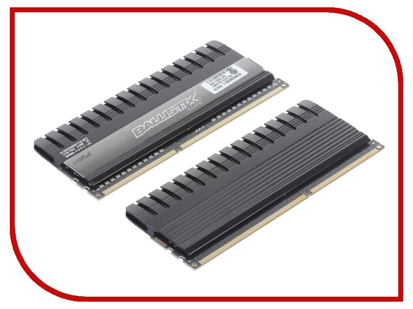 Модуль памяти Crucial Ballistix Elite DDR3 DIMM 1866MHz PC3-14900 CL9 - 16Gb KIT (2x8Gb) BLE2CP8G3D1869DE1TX0CEU<br>
