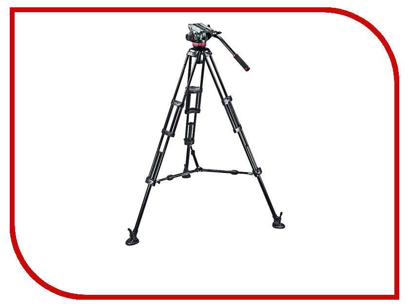 Штатив Manfrotto 546BK-1 MVH502A<br>